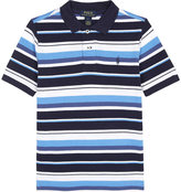 Ralph Lauren Pony Striped Piqué Cotton Polo Shirt 2-7 Years