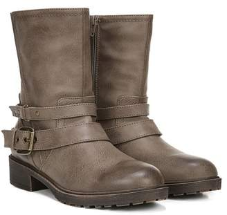 Fergalicious Recall Buckled Mid Shaft Moto Boot