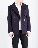 Burberry Double-breasted Felt Peacoat