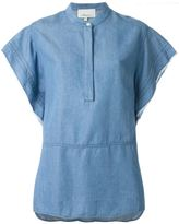 3.1 Phillip Lim boxy denim tunic - women - Lyocell - 6