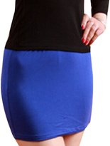 JYE Women's Cotton One-step Mini Skirt Sexy Muticoor Nightcub Party Short Dress