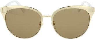 Gucci Clubmaster Metal Sunglasses