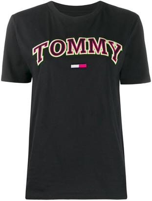 Tommy Jeans Neon boyfriend-fit cotton T-shirt