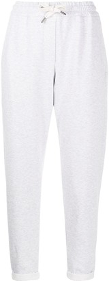 Brunello Cucinelli Drawstring Cropped Sweatpants