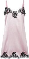 Dolce & Gabbana lace trim camisole - women - Silk/Cotton/Polyamide/Spandex/Elastane - 2