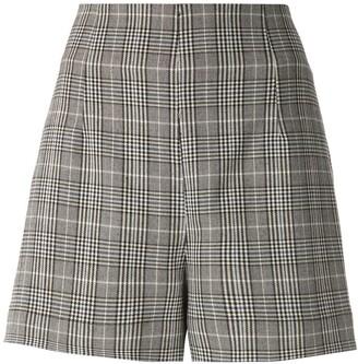Martha Medeiros Thammy checkered shorts