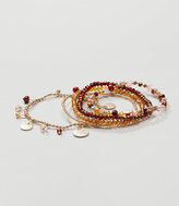 LOFT Rondelle Disc Stretch Bracelet Set