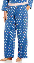Sleep Sense Plus Hearts & Stripes Sleep Pants