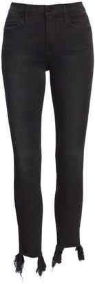 Frame Le High Skinny Stiletto Hem Jeans