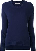 Edamame London - cashmere ribbed sleeves jumper - women - Cashmere - 1