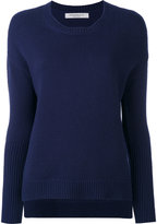 Edamame London - ribbed sleeves jumper - women - Cashmere - 1
