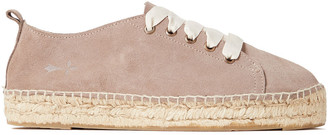 Manebi Suede Platform Espadrille Sneakers