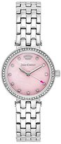 Juicy Couture Women's 'Cali' Quartz Stainless Steel Quartz Watch, Color:Silver-Toned (Model: 1901467)