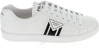Prada Embossed Logo Sneakers