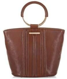 Brahmin Mod Bowie Leather Satchel