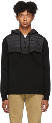 Canada Goose Black Down Hybridge Anorak Sweater