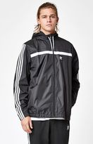 adidas Black & White Windbreaker Jacket
