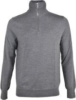 Burberry Zip Neck Sweater