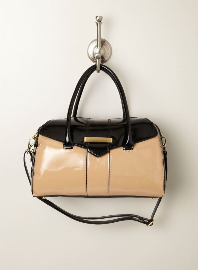 London Fog Salem Colorblock Satchel