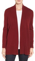 Nordstrom Women's Open Front Cashmere Cardigan