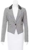 Band Of Outsiders Cropped Cutaway Blazer w/ Tags