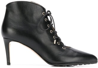 Chloe Gosselin Priyanka lace-up ankle boots