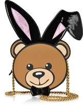 Moschino Eco Leather Teddy Playboy Shoulder Bag