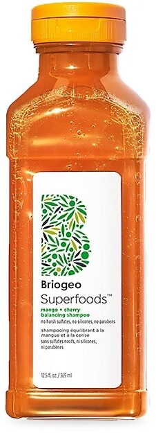 Thumbnail for your product : BRIOGEO SuperfoodsTM Superfoods Mango + Cherry Oil Control & Balancing Shampoo