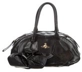 Vivienne Westwood Leather Bow-Accented Bag