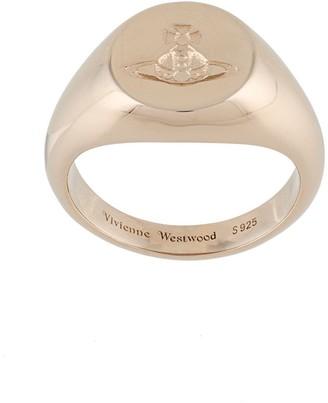 Vivienne Westwood Sigillo gold-tone ring