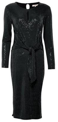 Dorothy Perkins Womens **Billie & Blossom Tall Black Glitter Knot Bodycon Dress, Black