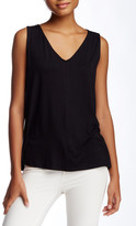 Laundry by Shelli Segal Crossback Pleated Blouse
