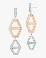 Walters Faith Keynes Two Tone Hexagon Drop Earrings