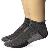 Reebok Men's 6 Pack Performance Low Cut Tab Sock Gray