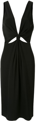 Dion Lee Loop Knot Dress