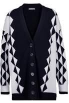 J.W.Anderson Oversized Intarsia Merino Wool Cardigan