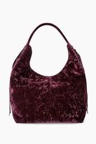 Rebecca Minkoff Velvet Bryn Double Zip Bag Boho Hobo Bag