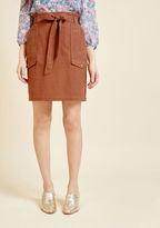 ModCloth Flawless Knowledge A-Line Skirt in 2X