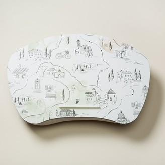 Indigo Paper Lost In Siena Lap Desk Tuscany Map