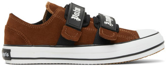 Palm Angels Brown Vulcanized Sneakers
