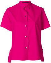 Sofie D'hoore short sleeve side slit shirt