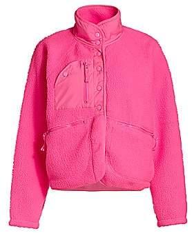 Free People Women's Hit The Slopes Fleece Jacket