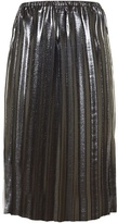 Etoile Isabel Marant Malden pleated lamé midi skirt