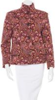 Missoni Wool Printed Jacket
