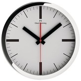 "Oliver Hemming Wall Clock with Simple Modern Line Dial (12"")"
