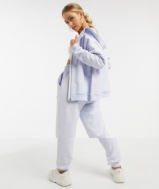 ASOS DESIGN tracksuit oversized zip through hoody / oversized joggers