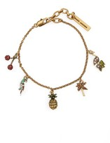 Marc by Marc Jacobs Women's Tropical Charm Bracelet