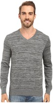 Perry Ellis Stripe V-Neck Sweater