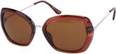 Accessorize Angular Square Sunglasses