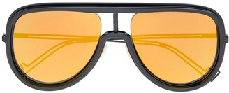 Fendi Eyewear Futuristic statement lens sunglassesovers